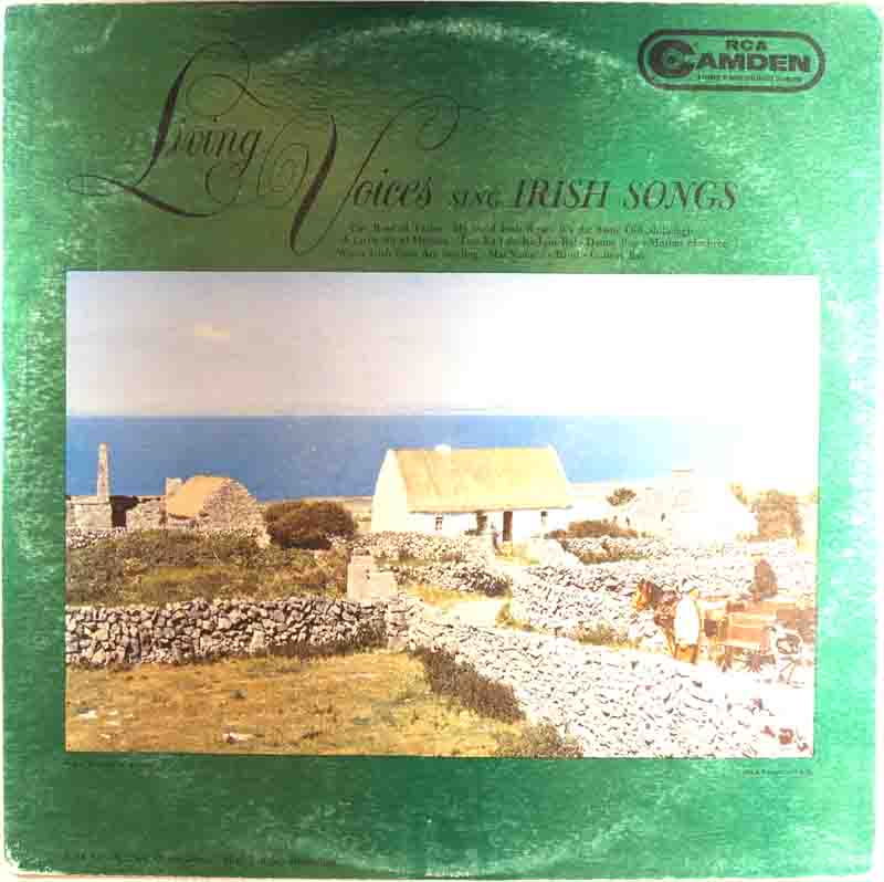 Living Voices Sing Irish Songsのジャケット表