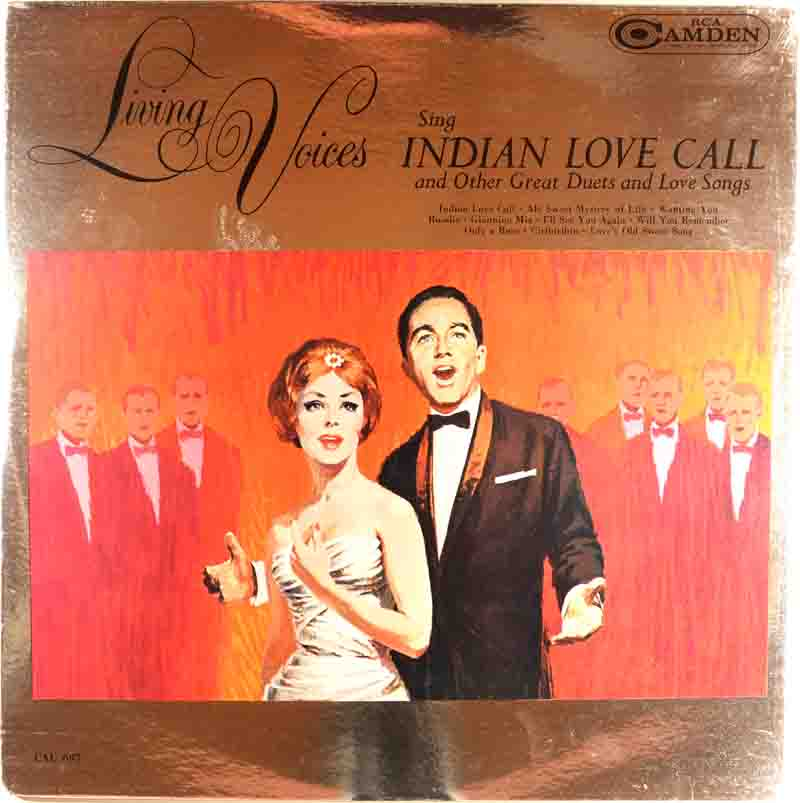 Living Voices Sing Indian Love Callのジャケット表