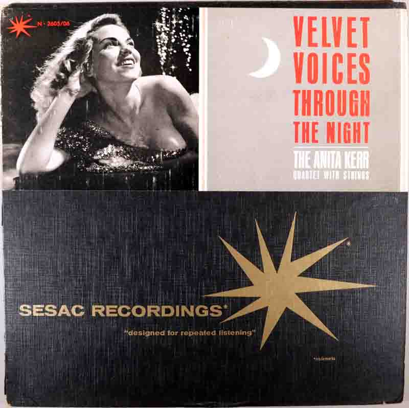 Velvet Voices Through the Nightのジャケット表