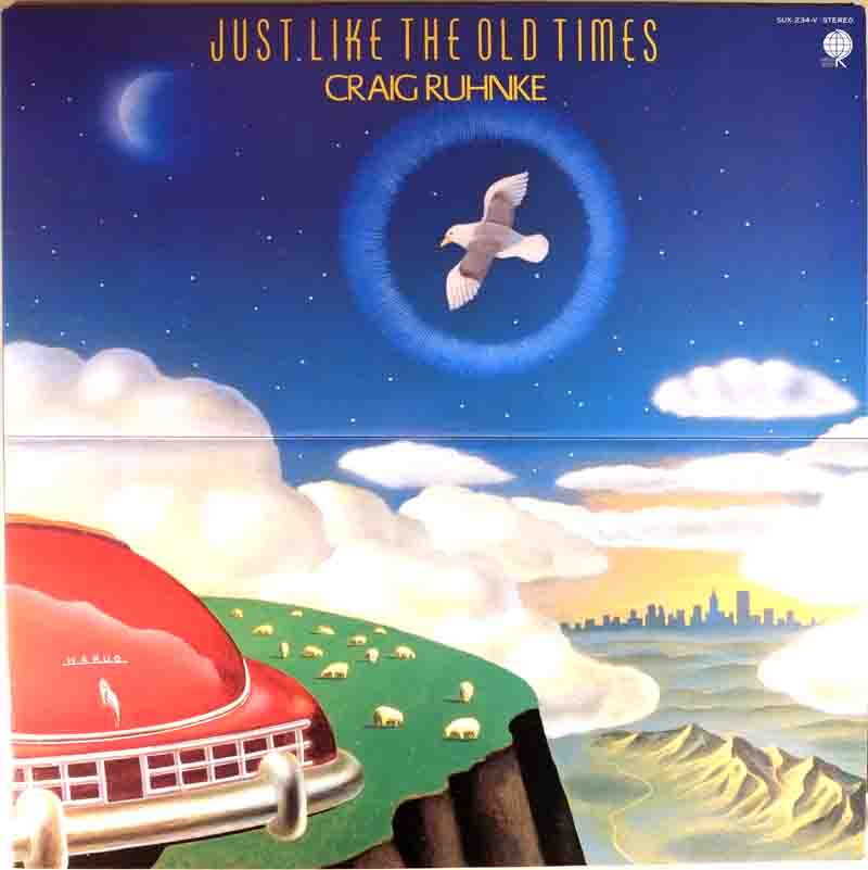 Just Like The Old Timesのジャケット表