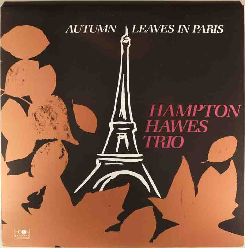 Autumn Leaves in Parisのジャケット表