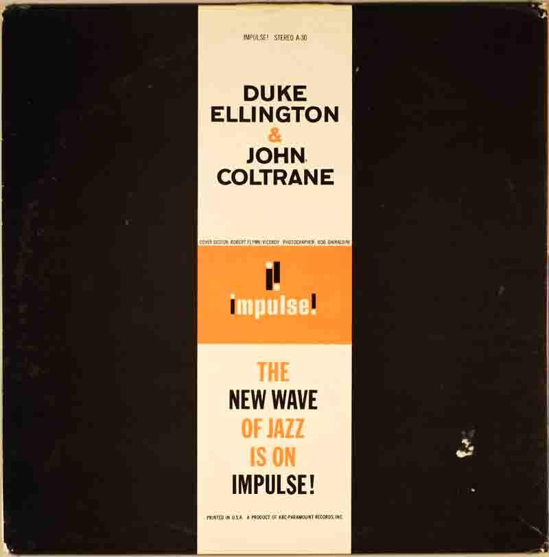 Duke Ellington & John Coltraneのジャケット裏