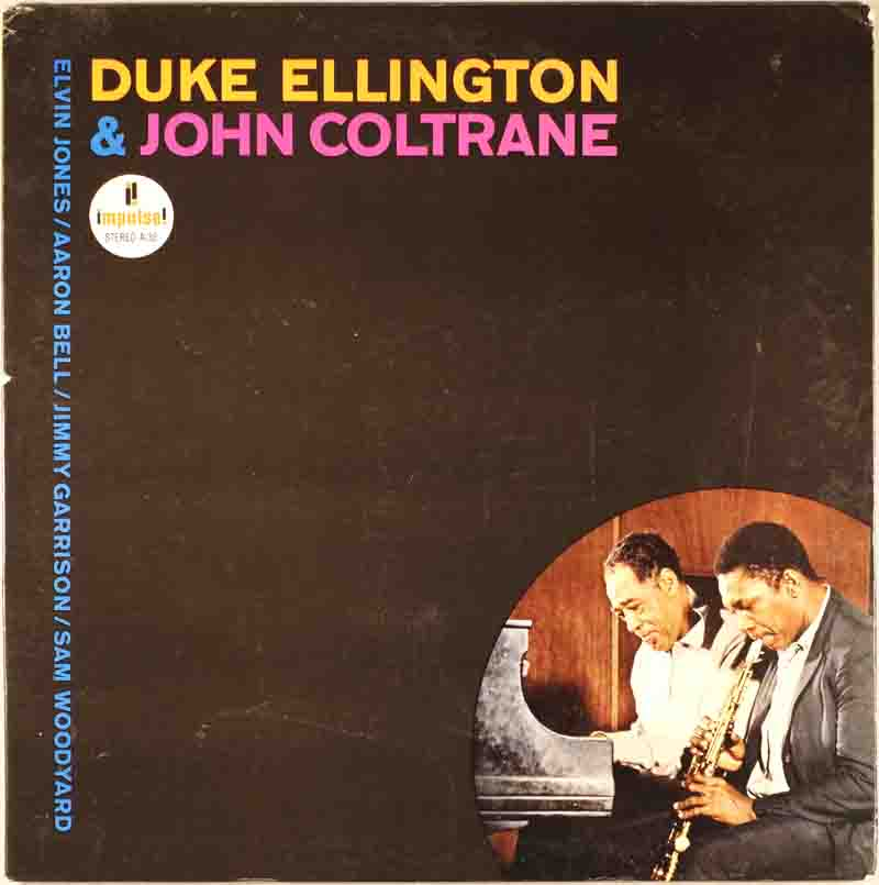 Duke Ellington & John Coltraneのジャケット表