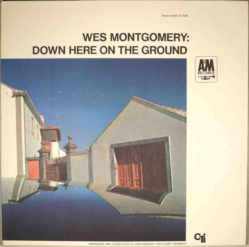 Down Here On The Groundのジャケット表